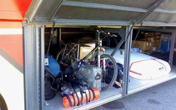 Провоз багажа в автобусе